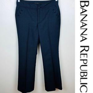 Banana Republic Wool Blend Sailor Pants Sz 4